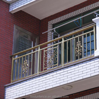 Galvanized Steel Railing Design For Balcony View Steel Railing