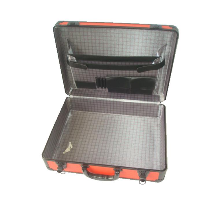 Aluminio Rojo Peluquería Herramienta Maletín Carry Case Con ...