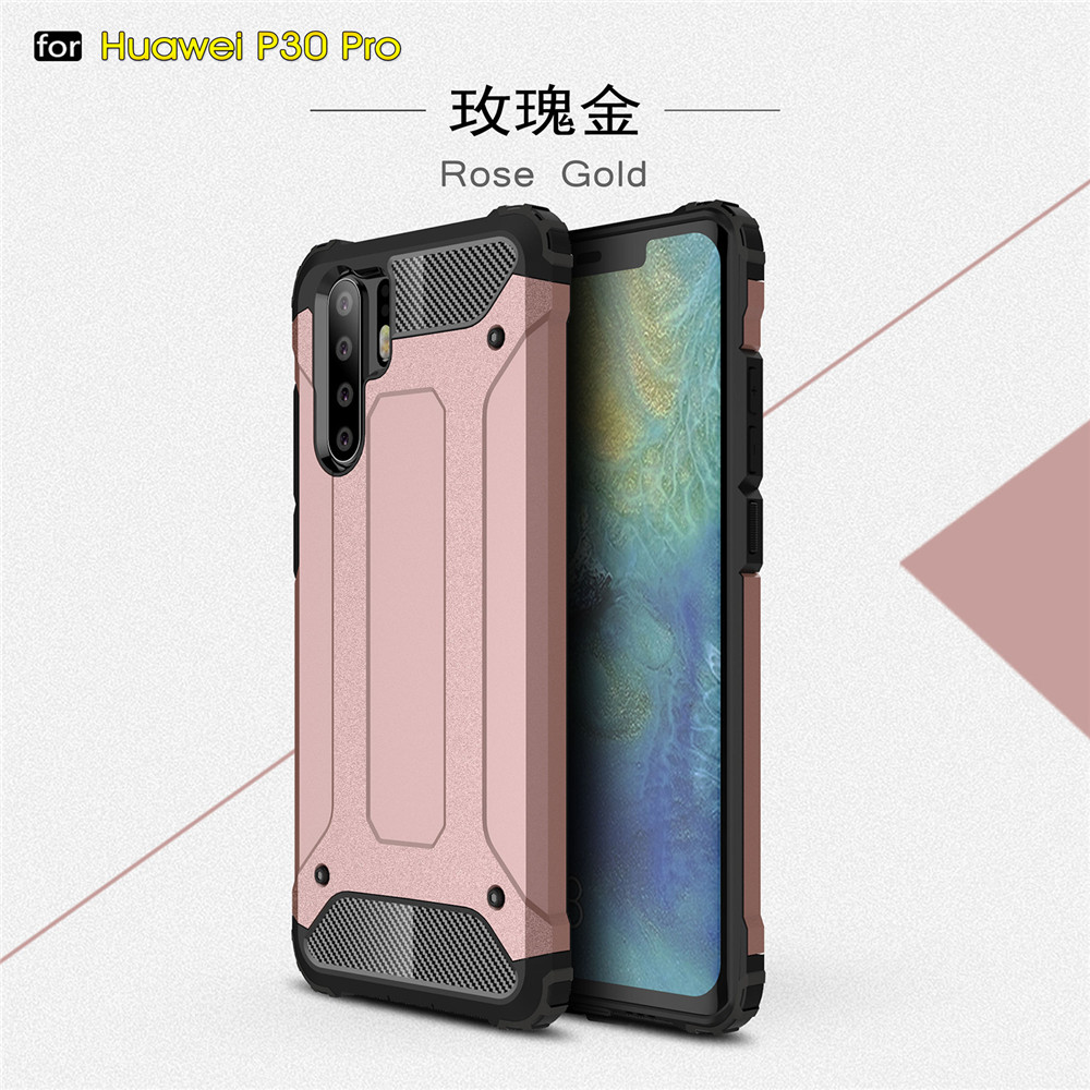 King Kong Armor Shell Strong Hybrid Tough Shockproof Phone Back Case for Huawei P30 P30 Pro