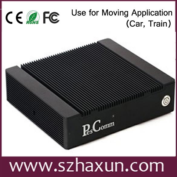 Intel Atom D2550 Fanless Firewall Computer Vpn,4lan Network ...