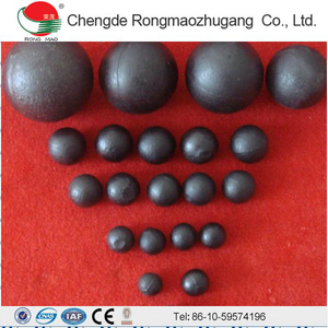 Austenite Cast Steel Cement Plant 120mm Grinding Ball
