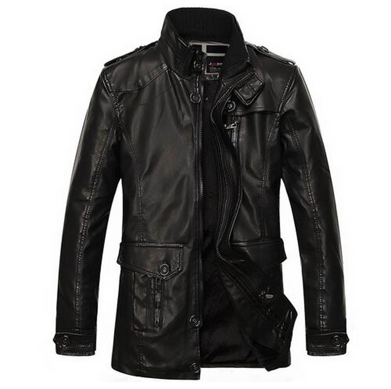 2015-Winter-Leather-Jacket-Men-Fleece-Warm-Cool-Outwear