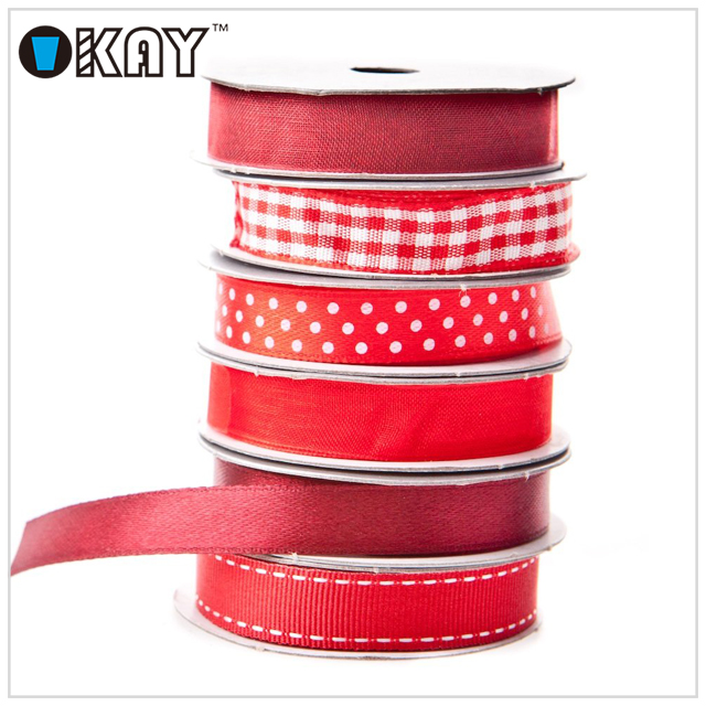 Wholesale High Quality Christmas Double Faced Satin Ribbon