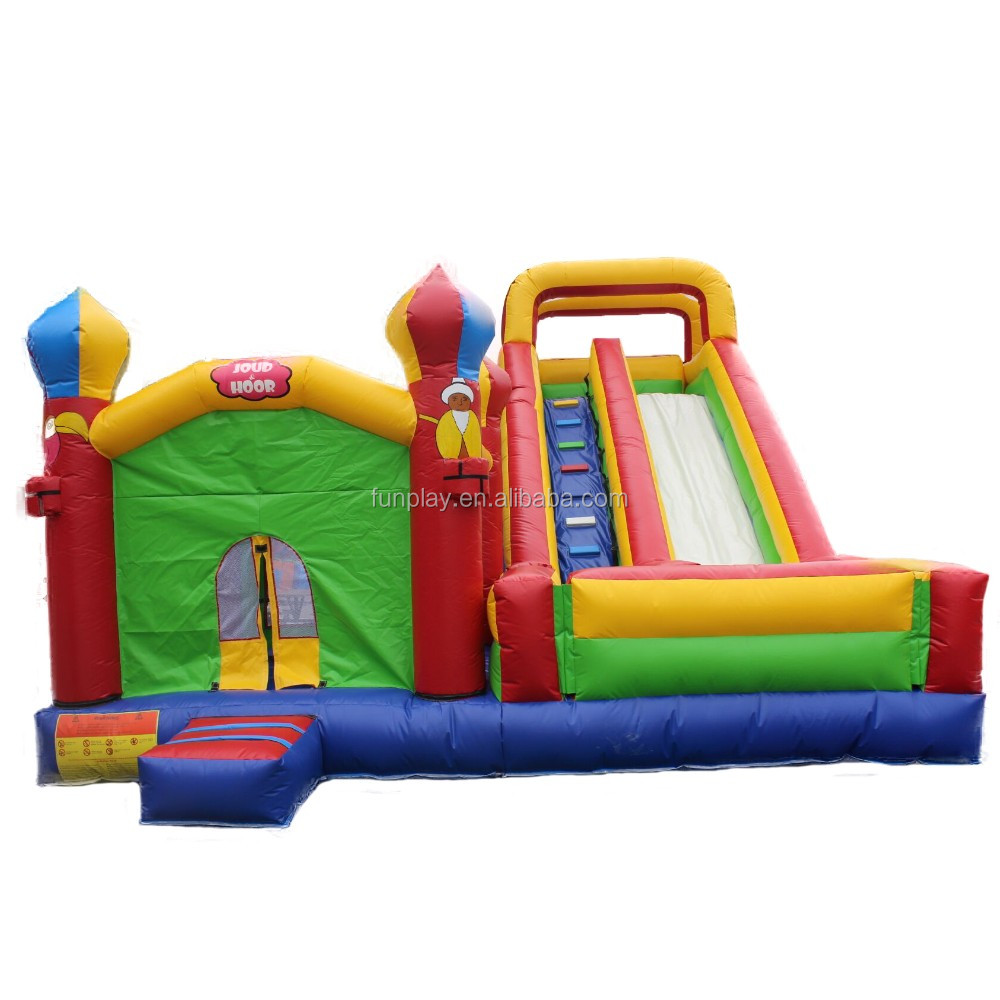 Inflatable slide castle combo inflatable air castle bouncy house inflatable jumping castle