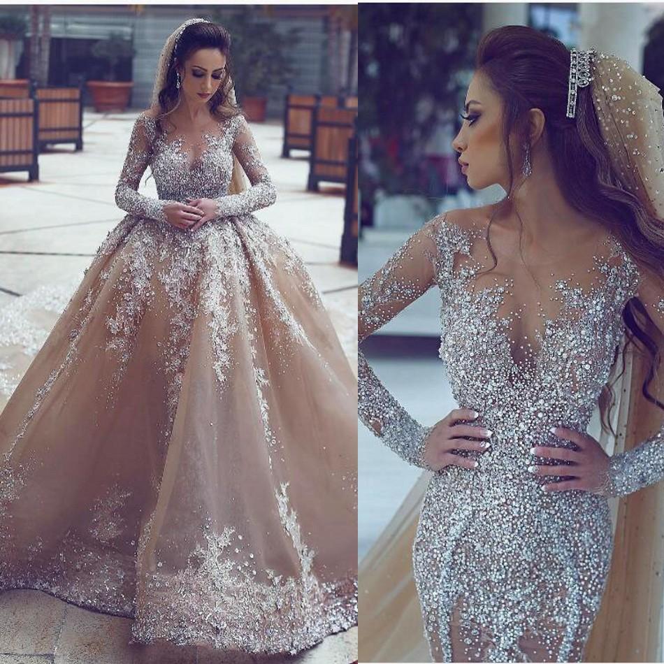 Popular Rhinestone Wedding Dresses-Buy Cheap Rhinestone