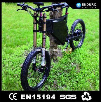 Promotional 1500w 48v Electric Dirt Bike Battery Inside Frame