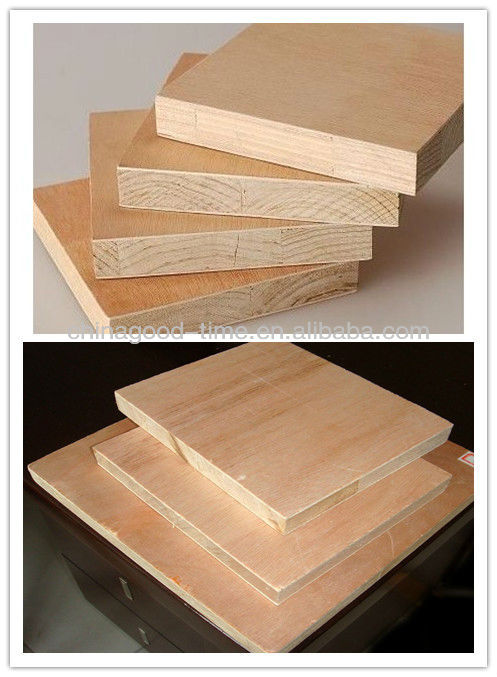 waterproof 1220x2440mm lower price fancy/veneer blockboard