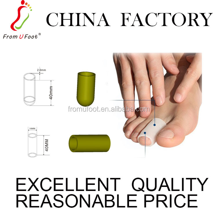 ZRWC01 Silica gel foot care products toe separator toe caps protector covers prevents callus blistering pain relief cuttabe