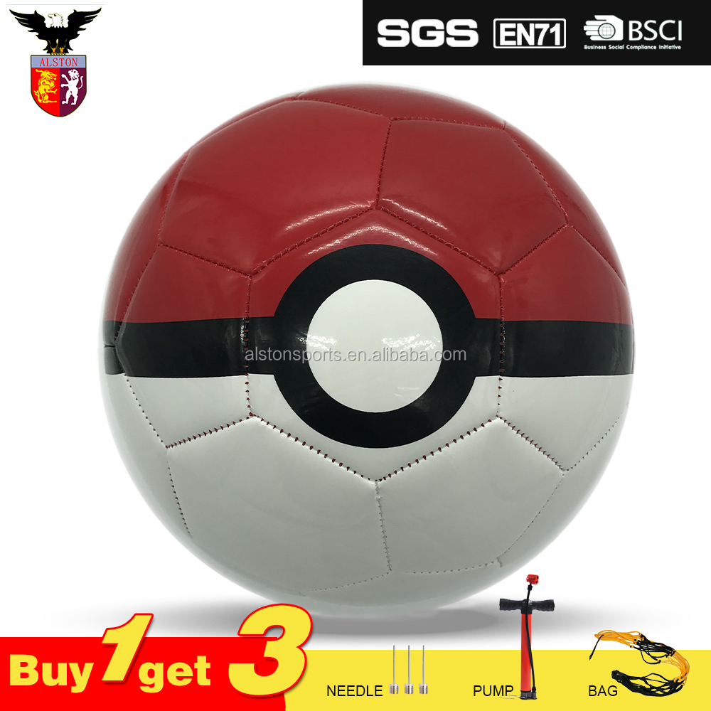 2017 new design Pokeball TPU/PVC soccer <strong>ball</strong> for promotion