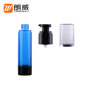 15ml 30ml 50ml cylinder cheap custom cosmetic airless small plastic pump spray bottle