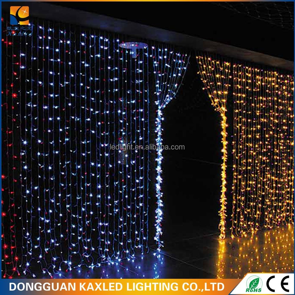 companies looking for distributor multi color steady -on Christmas decorative curtain light