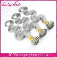 Wholesale price online buy cheap human hair indian body wave natural human hair party gray human hair