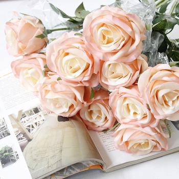 Blasting Simulation Of Hand Feeling Flowers Roses Home Decoration
