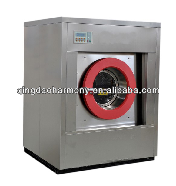 Automatic washer extractor used in laundry hospital hotel 30kg commercial washing machine