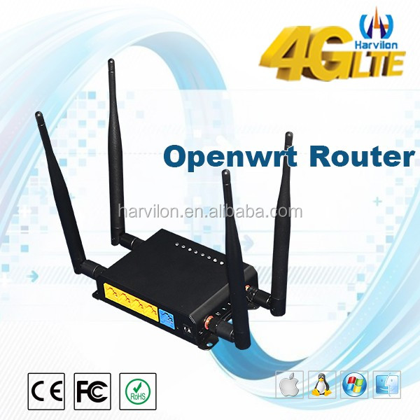 Ethernet Router 4G LTE WI-FI Modem Support External Antennas Qualcomm Chipset Router 4G