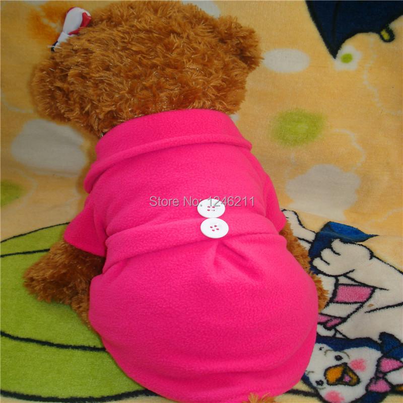 Pet одежда для собак сплошного цвета пальто платье щенок юбка одежда пуловеры и пиджаки