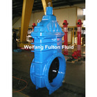 Cast iron resilient seated wedge stem gate valve big size and small size DIN / EN / BS / ANSI standard
