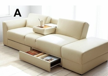 Wholesale Sofa Bed Living Room Storage Box Sofa Bed Folding Sofa Bed