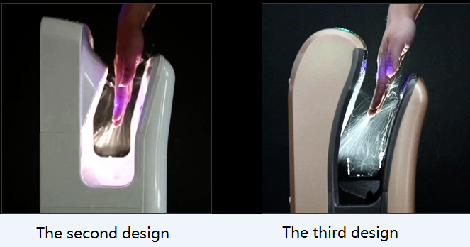 Color Customized Yes Sensor Infrared Sensor Hand Dryer