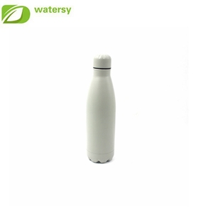 Most popular products 500ml sport water bottle stainless steel double wall cola shape water bottle