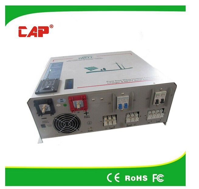 1-200kw Output DC/AC Inverters hybrid inverter 12kw built in 100a mppt solar charger