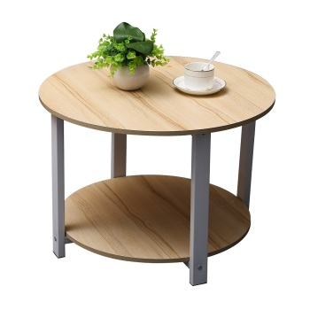 Wondrous Portable Small Wood Round Coffee Table Sofa Side End Table Centre Tea Table View Round Coffee Table Home Bi Product Details From Homebi Technology Ibusinesslaw Wood Chair Design Ideas Ibusinesslaworg