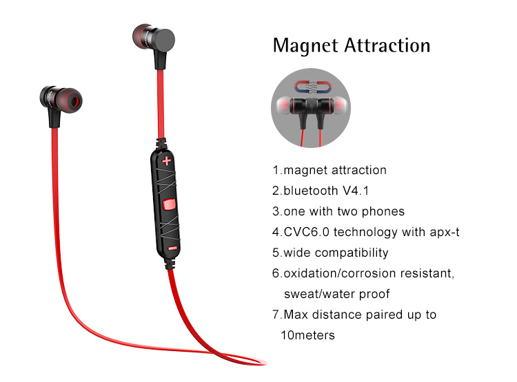 CE ROHS FCC BQB Certificated A920BL AWEI Wireless Bluetooth Earphone Stereo Manufacturer Shenzhen