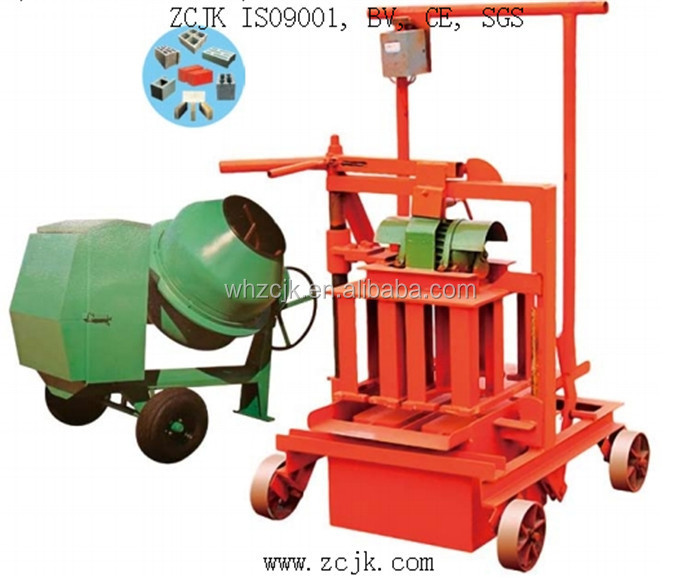 ZCJK40A Hot sale block making machine in zambia/Factory price automatic block makin/egg laying