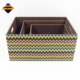 Modern high-grade most popular fabric paper gift storage boxes