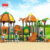 Chinese manufacturer large plastic tunnel children's long outdoor playground slide
