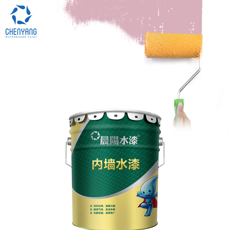Non Toxic Interior Paint: Acrylic Raw Material Colorful Interior Wall Coatings