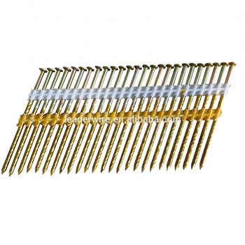 Hitachi 21/34 Degree Round Head Plastic Strip Framing Nails With ...