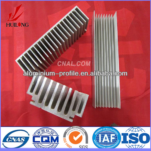 Hot sale ISO certificate 6000 series industrial aluminium heat sink profile
