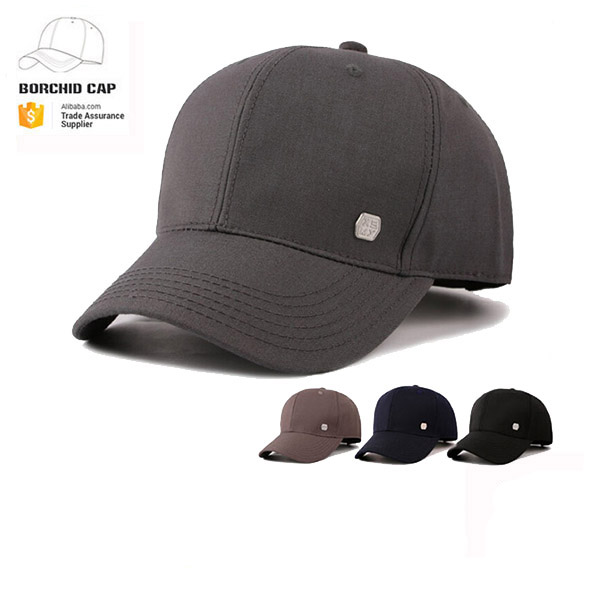 2017 new style 100% cotton short bill custom plain blank 6-panel baseball  dad cap without logo c02fe47c827