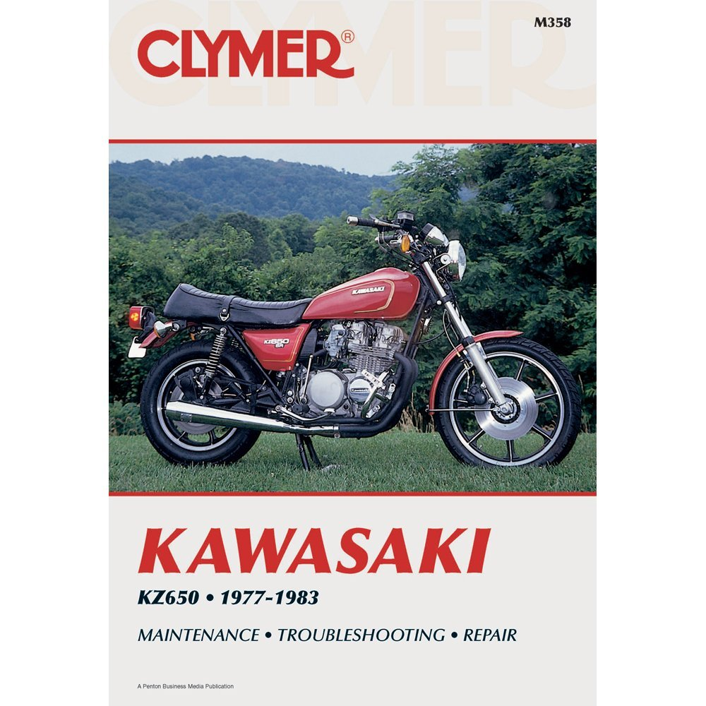 Clymer Repair Manual for Kawasaki KZ650 KZ-650 77-83