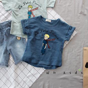 schöne Schuhe Online gehen große Auswahl 2017 Kinder Sommer T-shirt Baby Mädchen Jungen Brief Drucken Mode Top Tees  Kinder Weiche Baumwolle T-shirts - Buy Mädchen-t-shirts Gedruckt ...