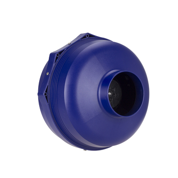 Portable Ventilation Fan High Speed Wall Duct Exhaust Fan Radon Removal nh Blue/White