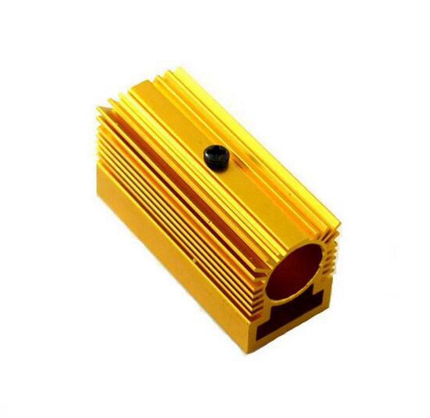 3pcs x Golden Aluminium Cooling Heatsink for 12mm Laser Modules Heat Sink 20x27x50mm