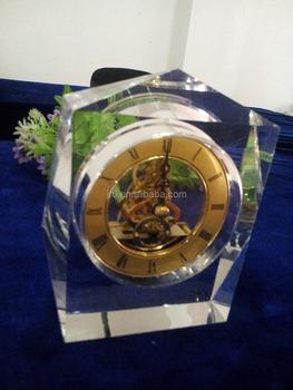 16 Years Wedding Anniversary Gift Crystal Clock - Buy Anniversary ...