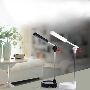 Hot Sales No Shadow Battery Operated Office Retro Aluminum Desk Lamp  Charger Led Mini Desk Lamp