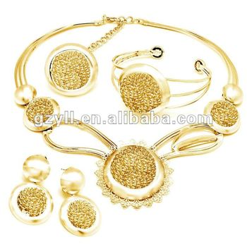 Arabic Jewelry Set With 18k Gold Plated Buy Jewelry Set18 Carat