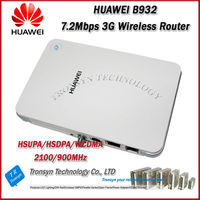 100% Original Unlock HSDPA 3.6Mbps HUAWEI B932 Mini 3G WiFi Router With LAN/WLAN Prot And Support VOIP