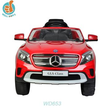 Licenciada Mercedes Benz GLA Atacado New Car Jogar Jogos, 2.4G R/C  Incluindo,