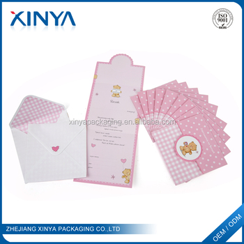 Xinya Chinese Factory Bulk Printable Diy Happy Birthday Gift