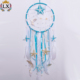 DLX-00036 sea style natural conch starfish dreamcatcher feather macrame cowire dream catcher with shell