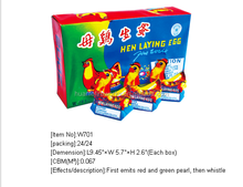 Cock crowing at dawn toy fireworks for sale for kids christmas decorations china supplier