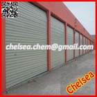 Industrial galvanized steel metal automatic warehouse doors