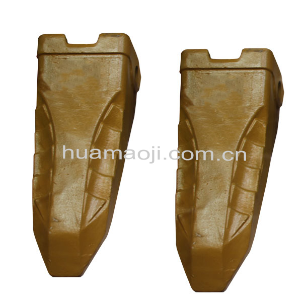 Construction machine excavator bucket tooth for EX
