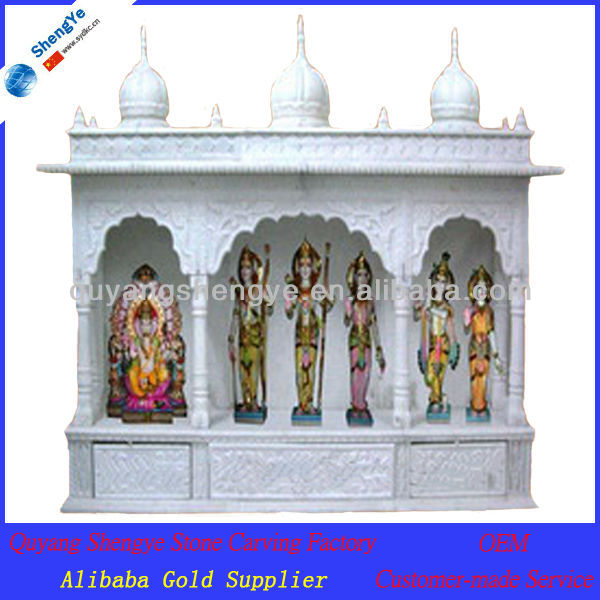 marbre blanc indienne temples pour d coration de la maison statues id de produit 910624701. Black Bedroom Furniture Sets. Home Design Ideas
