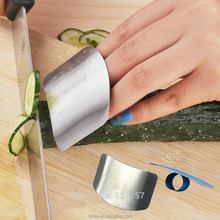 Finger Guard Protector Hand Kitchen Cooking Tools Stainless Steel Personalized Design Chop Safe Slice Knife
